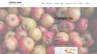 Mins Cider Mill WordPress Theme