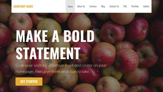 Stout Cider Mill WordPress Theme