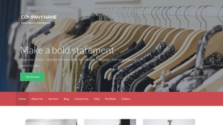 Activation Clothing and Apparel Store WordPress Theme