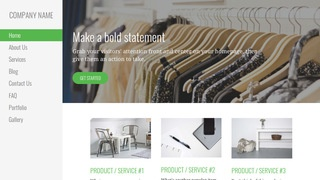 Escapade Clothing and Apparel Store WordPress Theme