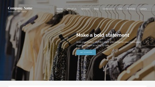 Lyrical Clothing and Apparel Store WordPress Theme