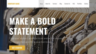Stout Clothing and Apparel Store WordPress Theme