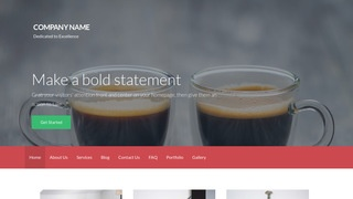 Activation Coffee or Tea Shop WordPress Theme