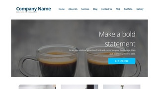 Ascension Coffee or Tea Shop WordPress Theme