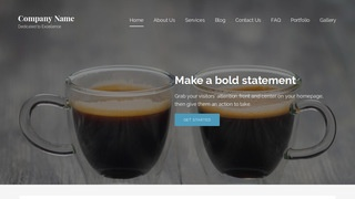 Lyrical Coffee or Tea Shop WordPress Theme