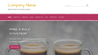 Scribbles Coffee or Tea Shop WordPress Theme
