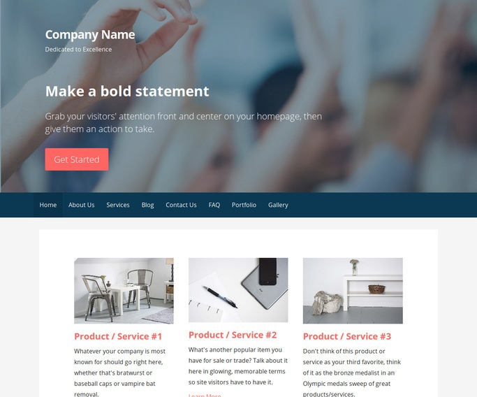 Primer College Counseling WordPress Theme