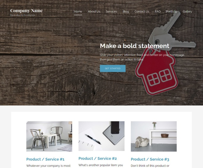 Lyrical Commercial Real Estate WordPress Theme