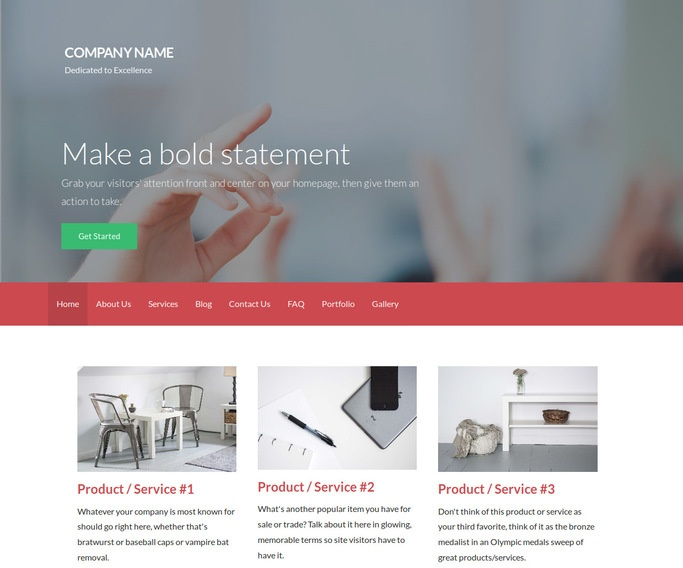 Activation Community and Junior College WordPress Theme