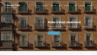 Lyrical Condominiums and Townhouses WordPress Theme
