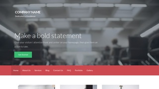 Activation Conference Center WordPress Theme