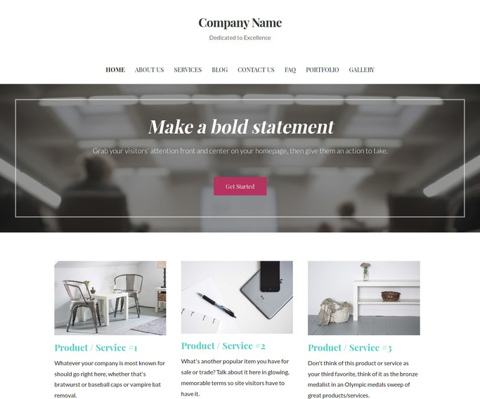 Uptown Style Conference Center WordPress Theme