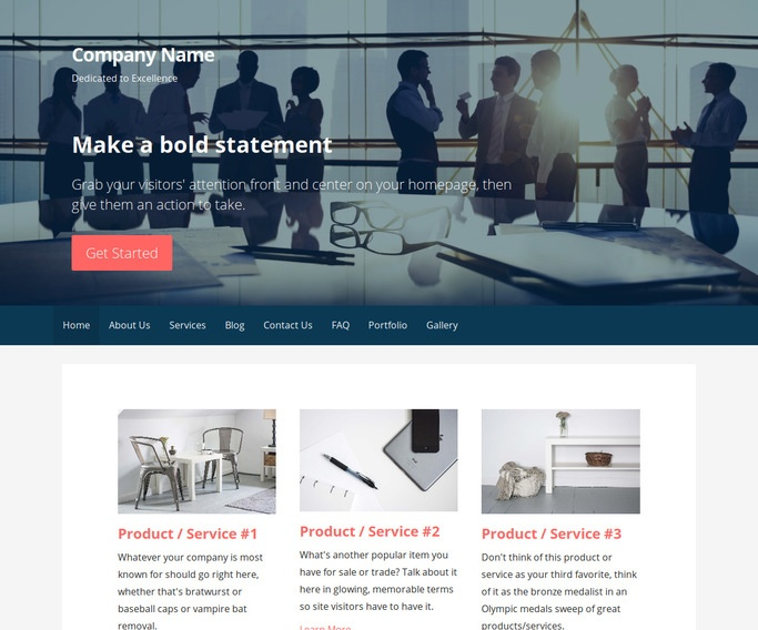 Primer Construction Service WordPress Theme