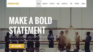 Stout Construction Service WordPress Theme