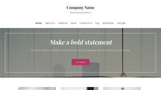 Uptown Style Construction Service WordPress Theme