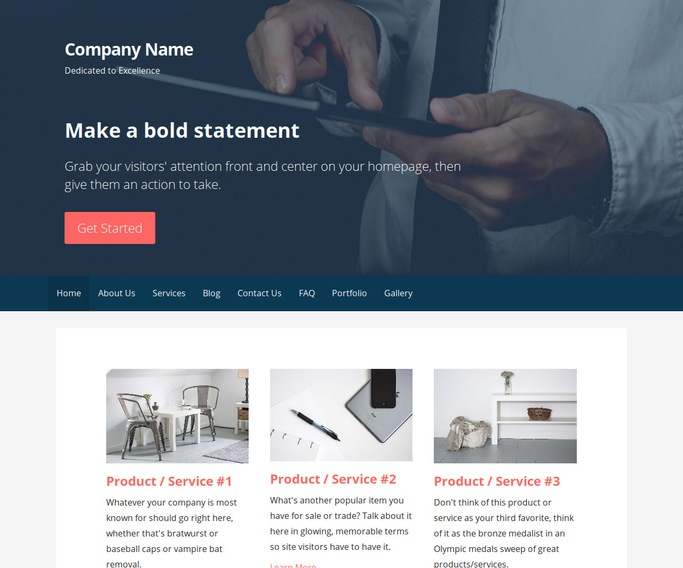 Primer Consulting WordPress Theme