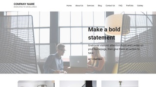 Mins Consulting Engineer WordPress Theme