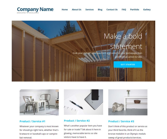 Ascension Contractor WordPress Theme