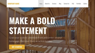 Stout Contractor WordPress Theme