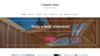 Uptown Style Contractor WordPress Theme
