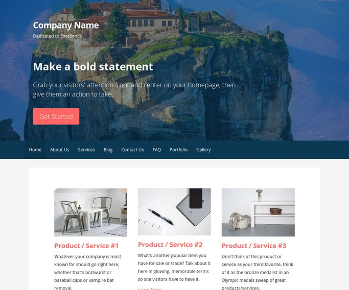 Primer Convent and Monastery WordPress Theme