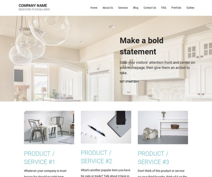 Mins Countertops WordPress Theme