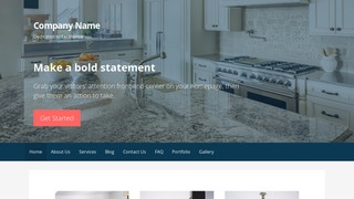 Primer Countertops WordPress Theme