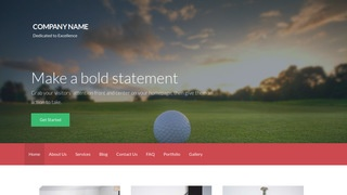 Activation Country Club WordPress Theme
