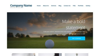 Ascension Country Club WordPress Theme