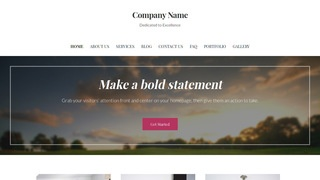 Uptown Style Country Club WordPress Theme