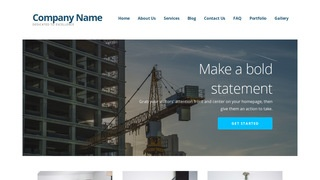 Ascension Crane Dealer WordPress Theme