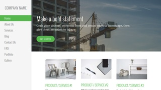 Escapade Crane Dealer WordPress Theme