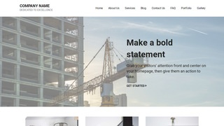 Mins Crane Dealer WordPress Theme