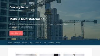 Primer Crane Dealer WordPress Theme
