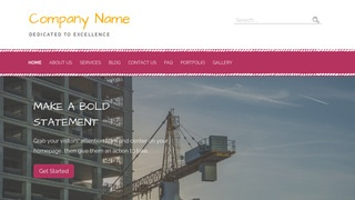 Scribbles Crane Dealer WordPress Theme