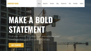 Stout Crane Dealer WordPress Theme