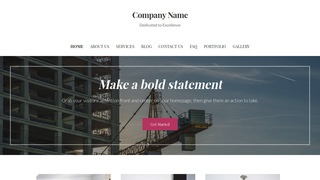 Uptown Style Crane Dealer WordPress Theme