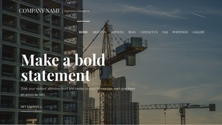 Velux Crane Dealer WordPress Theme