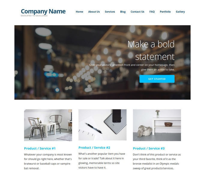 Ascension Creperie WordPress Theme