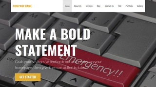 Stout Crisis Intervention WordPress Theme