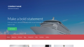 Activation Cruises WordPress Theme