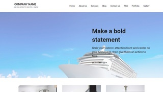 Mins Cruises WordPress Theme