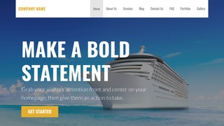 Stout Cruises WordPress Theme