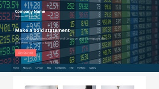 Primer Currency Exchange WordPress Theme