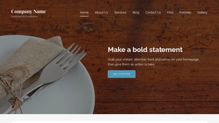 Lyrical Cutlery and Knives WordPress Theme