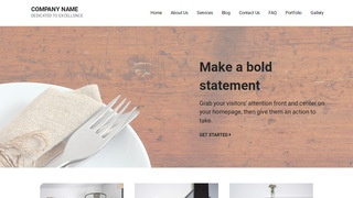 Mins Cutlery and Knives WordPress Theme
