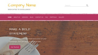 Scribbles Cutlery and Knives WordPress Theme