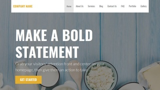 Stout Dairy WordPress Theme
