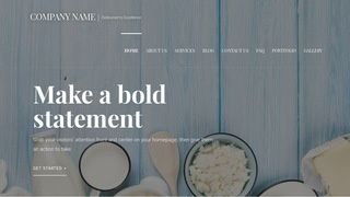 Velux Dairy WordPress Theme