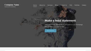 Lyrical Dance School WordPress Theme